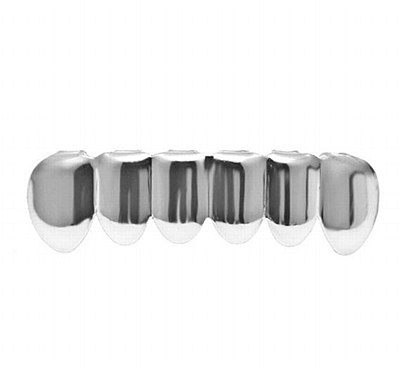 Hip Hop Silver Lower Grill