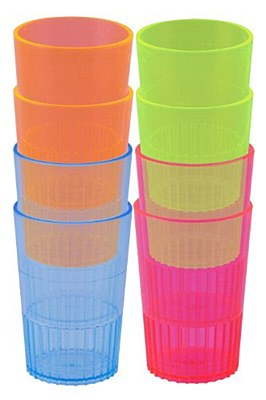 Neon Colored Shot Glasses