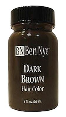 Ben Nye Liquid Hair Color - Dark Brown 2oz