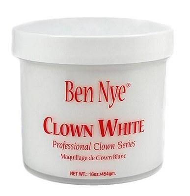 Ben Nye Clown White Cream 16oz