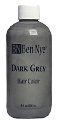Ben Nye Liquid Hair Color-  Dark Grey 8oz