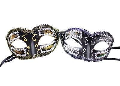 Mardi Gras Versace Eye Mask