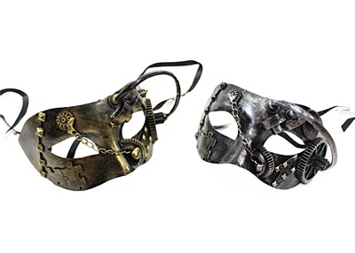 Mardi Gras Hydro Steampunk Eye Mask