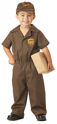 UPS Guy Toddler Child Costume