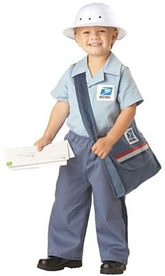 Mr. Postman Toddler Child Costume