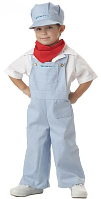 Amtrack Train Engineer Toddler Costume