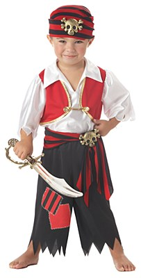 Ahoy Matey Pirate Toddler Costume