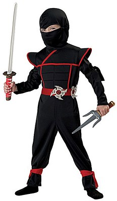 Stealth Ninja Toddler Child Costume