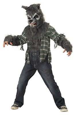 Howling At The Moon Wolf Child Costume