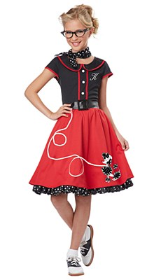 50's Sweetheart Outfit Child Costume