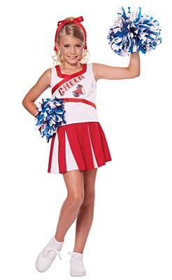 High School Cheerleader Child Costume