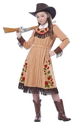 Annie Oakley Cowgirl Child Costume