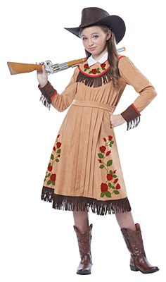 Annie Oakley Cowgirl Child Costume