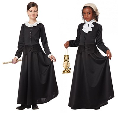 Susan B. Anthony / Harriet Tubman Child Costume