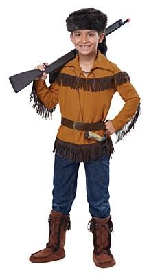 Davy Crockett Frontier Child Costume