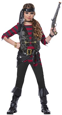 Renegade Pirate Child Costume