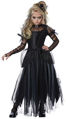 Dark Princess Child Costume