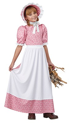 Early American Pioneer Girl Child Costume
