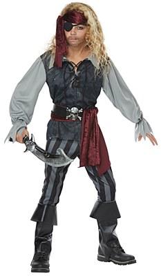 Sea Scoundrel Pirate Child Costume