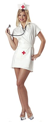 Fashion Nurse Adult Costume