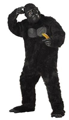 Gorilla Deluxe Adult Plus Costume