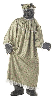 Wolf Granny Adult Costume