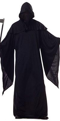 Hidden Face Horror Robe Adult Costume