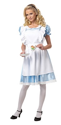 Alice In Wonderland Adult Costume