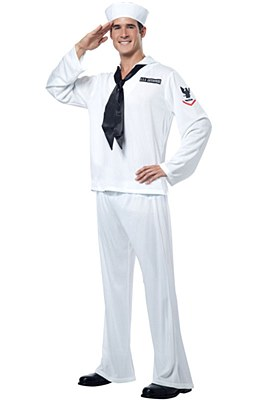 Sailor Navy Man Adult Costume