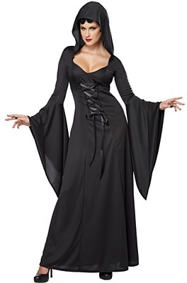 Hooded Robe Deluxe Adult Costume