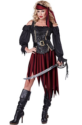 Queen Of The High Seas Adult Costume