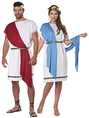 Party Toga Unisex Adult Costume