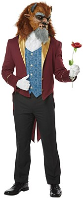 Storybook Beast Man Adult Costume