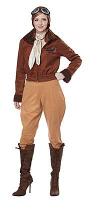 Amelia Earhart Aviator Adult Costume