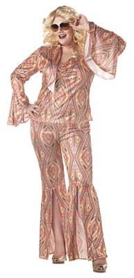 Discolicious Adult Plus Costume