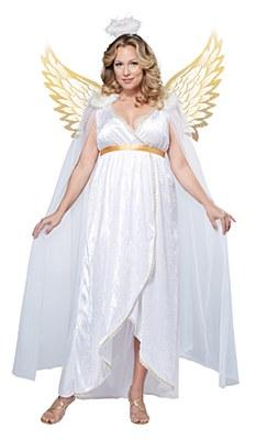 Guardian Angel Adult Plus Costume