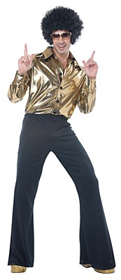 Disco King Adult Plus Costume