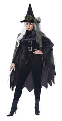 Gothic Witch Adult Plus Costume