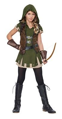 Miss Robin Hood Child Costume