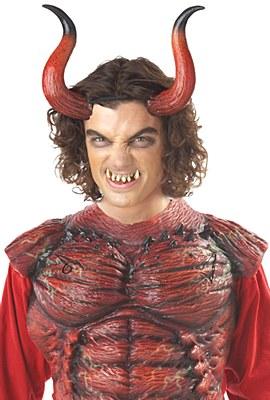Hellion Demon Horns And Teeth Set