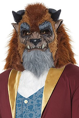 Storybook Beast Deluxe Mask