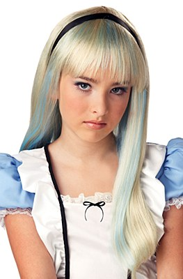 Alice Blue Highlight Child Wig