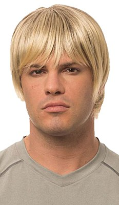 Surfer Dude Blonde Wig
