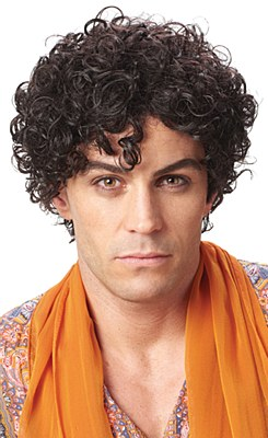 Persian Prince Curly Wig