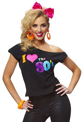 I Love The 80's Adult T-Shirt