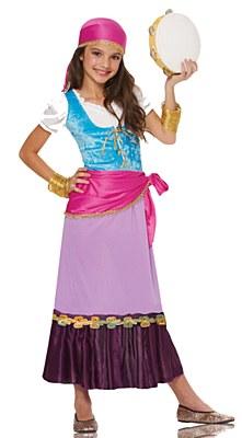 Pretty Gyspy Child Costume