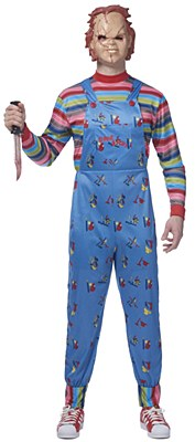 Chucky Deluxe Adult Costume