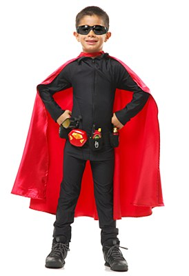 Super Hero Red Child Cape