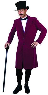 Victorian Gentleman Velvet Coat / Jacket