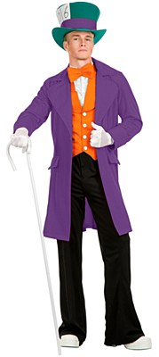 Mad Hatter Electric Adult Costume